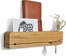 Natuhr Colgador de llaves (madera de haya,