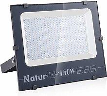 Natur 150W LED Foco Exterior alto brillo