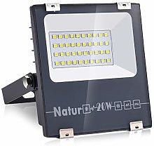 Natur 20W LED Foco Exterior alto brillo