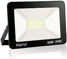 Natur 3000 Lúmenes Focos LED 30W Exterior con LED