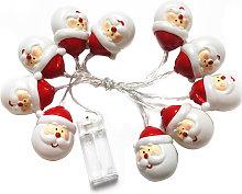 Navidad luces de cadena 1,5M cadena luz 10pcs