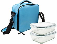 NERTHUS FIH 694 Lunch Bag Azul Claro + 2
