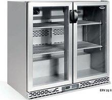 Nevera expositora refrigerada ERV 25 II Acero