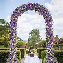 Niguleser Arco De Jardín con Marco De Acero, Arco