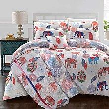 Nimsay Home Elephant - Juego de funda de edredón