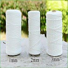 NO BRAND Cuerda de Cable de algodón Puro DIY