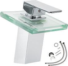 No_brand - Grifo con vidrio en cascada (modelo 1)