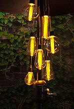 Noma 7 luces para sombrilla con LED blanco