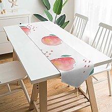 None-brands Camino de mesa de 33 x 188 cm, diseño