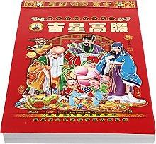 NUOBESTY 2022 Calendario Chino Año de La Pared
