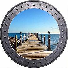 NYJNN 3D ojo de buey vista playa océano mar sol