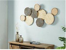 Objeto decorativo de ratán y bambú ETOLIE - 134