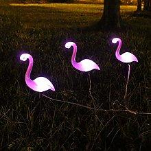 Ocamo 3 LED Lámpara de jardín de energía Solar