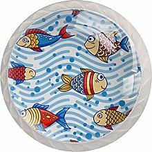 Ocean Sea Subwater Fish Pattern Pomo redondo de