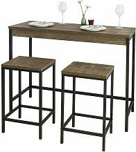 OGT30-N Set de mesa y taburetes de estilo