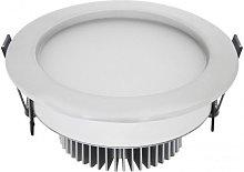 Ojo de Buey LED 7W 3000K Circular Aluminio blanco