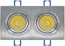 OJO DE BUEY LED OHIO 14W (2x7W) 4000K - Lúzete