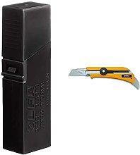 Olfa 115303 Cuchilla Cutter Troceable Excel Black