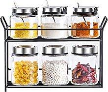 Ollas de condimentos Juego de cajas de condimentos