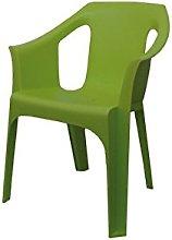 OLOT - Silla Apilable Poliprop Verde Olo