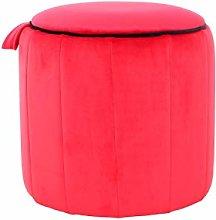 One Couture Taburete, Rojo, 43cm x 43cm x 42cm