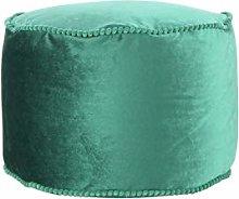 One Couture Taburete, Verde, 45cm x 45cm x 38cm
