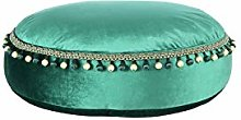One Couture Taburete, Verde, 65cm x 65cm x 25cm