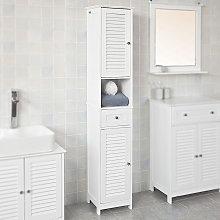 Oobest - Armario de Baño Mueble columna de baño