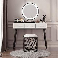 Oobest - Espejo de maquillaje LED Espejo