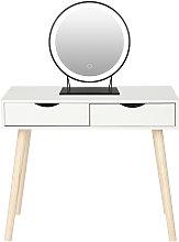 Oobest - Mesa de Maquillaje Mesa de escritorio