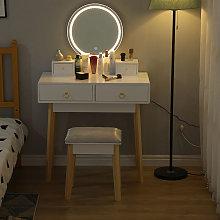 Oobest - Tocador LED,Mesa De Maquillaje Con