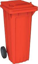 OPV - Cubo de baena WAVE 80-litros rojo