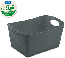Organizador Boxxx M Organic Gris Oscuro - Koziol