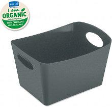 Organizador Boxxx S Organic Gris Oscuro - Koziol