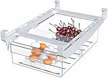 Organizador de cajón de huevo para nevera con