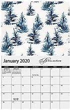 Oriental Trading Calendario de pared, multicolor,