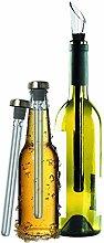 Original Regalo Enfriador de Vino y Cerveza Set de