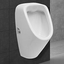 Orinal urinario cerámico blanco para hombres con