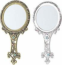 oshhni Espejo de Tocador de Belleza de Maquillaje