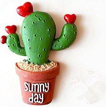 OUNONA Imán para nevera, diseño de cactus, de
