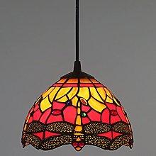 OURLOVEII Lámpara Colgante Tiffany, Lámpara de