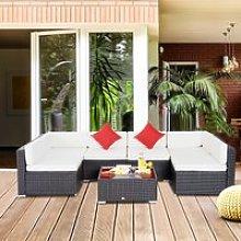 Outsunny® Conjunto Muebles de Jardín Ratán 7