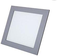 P&b - Foco Led cuadrado plata 6w 4000K luz neutra