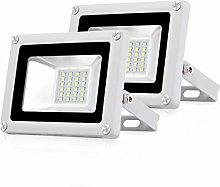 Pack 2x 20W Focos LED Exterior IP65 Impermeable