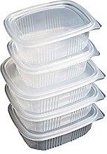 Pack de 50 Envases Reutilizables para Alimentos