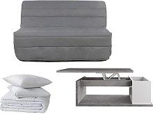 PACK Estudio 5 productos: sofá cama acordeón