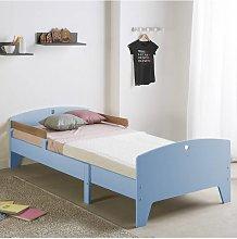 Pack infantil cama evolutiva + Colchón Azul