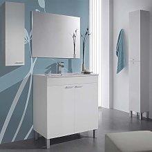 Pack mueble de baño con espejo + Columna +