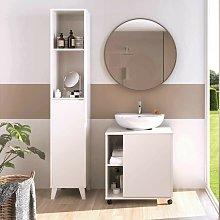 Pack Muebles de baño Sintra Color Blanco Alto