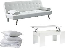 Pack STUDIO 5 productos: sofá cama MICHELLE